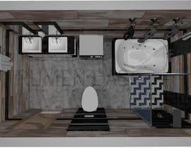 #12 para Bathroom 3d design por rumendas
