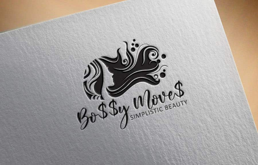 Kilpailutyö #                                        135                                      kilpailussa                                         Logo for Bo$$y Move$ & Simplistic Beauty