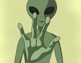 Nro 114 kilpailuun Alien Themed Illustrations käyttäjältä Jil999