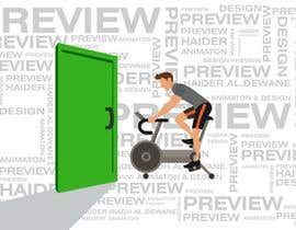 #207 cho Animated Logo For a Fitness Gym bởi haidarhashim