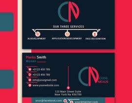 Nro 1262 kilpailuun Design a business card käyttäjältä shahsaydul88