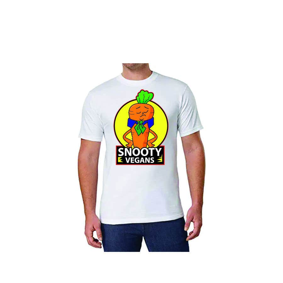 Contest Entry #                                        100                                      for                                         Vegan T-Shirt Design