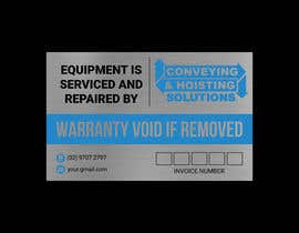 #153 untuk Sticker Design for service/repair of equipment oleh malekhossain1000