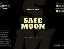 #1 for Create a SAFEMOON inspired BEER label! by emanuelava