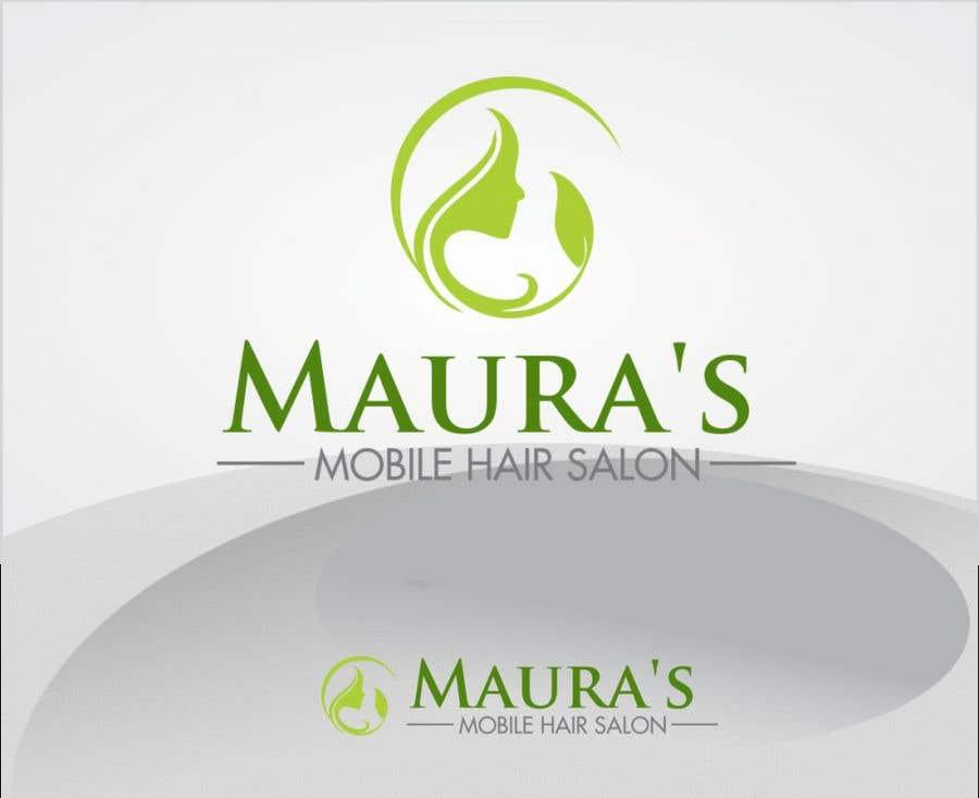 Bài tham dự cuộc thi #                                        87                                      cho                                         Design a logo for      Maura's Mobile Hair Salon