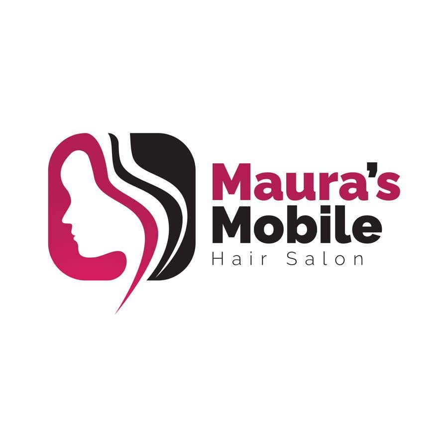 Bài tham dự cuộc thi #                                        7                                      cho                                         Design a logo for      Maura's Mobile Hair Salon