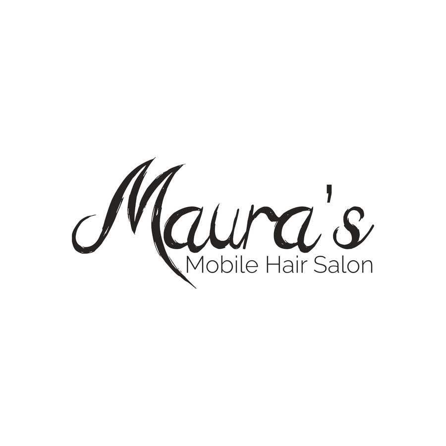 Bài tham dự cuộc thi #                                        12                                      cho                                         Design a logo for      Maura's Mobile Hair Salon