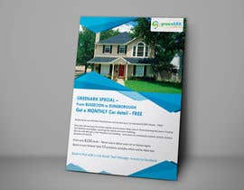 #19 untuk Design a Flyer for GreenArk Property Maintenance oleh tahira11