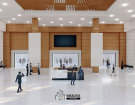 #85 cho 3D Reception hall design bởi abdilahrasyid05