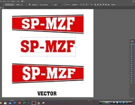 #40 for Quick vector graphics job - 4 letters by Mostaq418