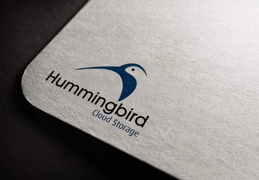 Konkurrenceindlæg #                                        25                                      for                                         Hummingbird Cloud Storage Logo