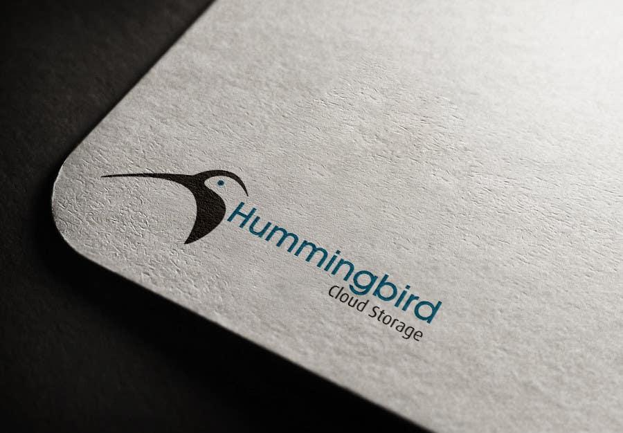 Konkurrenceindlæg #                                        26                                      for                                         Hummingbird Cloud Storage Logo