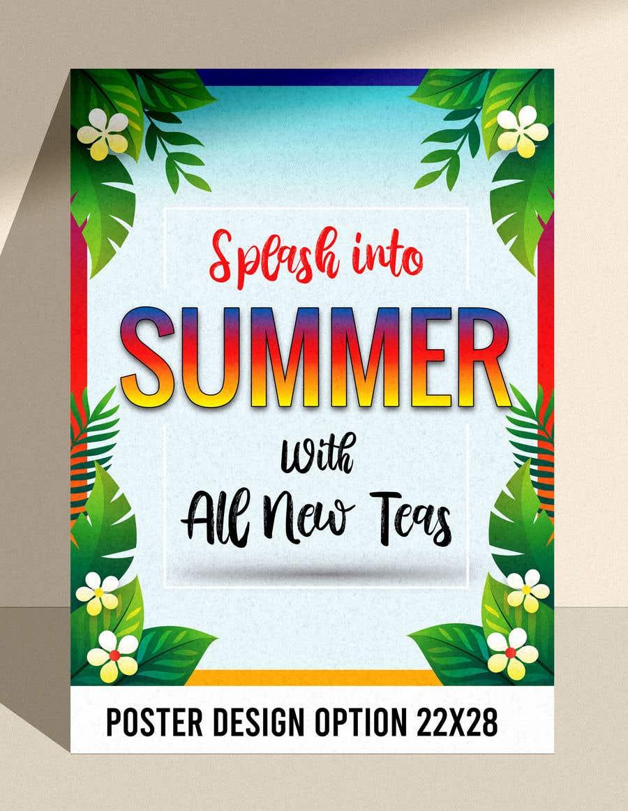 Kilpailutyö #                                        33                                      kilpailussa                                         I need a summer promotional poster designed