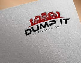 #929 untuk Logo Design for my Trucking Business ( Dump It Trucking LLC ) oleh sanudhar90
