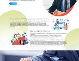 Nro 24 kilpailuun Web page design - Influencers käyttäjältä vivekdaneapen
