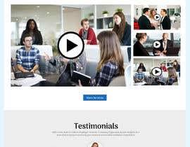 Nro 4 kilpailuun Web page design - Influencers käyttäjältä sharifkaiser