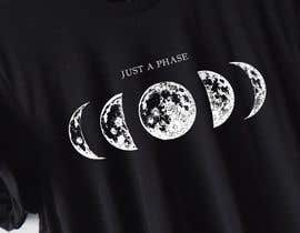 #1 для Moon Phases T-Shirt от iconday