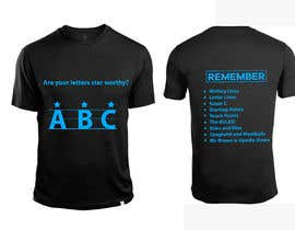 Nro 31 kilpailuun Create a tee shirt design käyttäjältä shatabdi3626