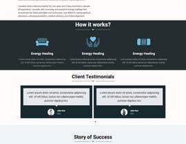 Nro 79 kilpailuun Need a Home Page Design for My Healing Website käyttäjältä Mdfaridkhan992