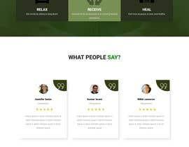 Nro 86 kilpailuun Need a Home Page Design for My Healing Website käyttäjältä Laboni4