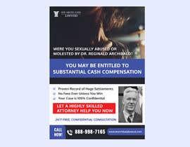 Nro 3 kilpailuun Need print ad for newspaper käyttäjältä miloroy13