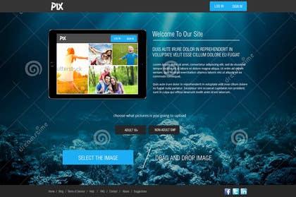 Nro 2 kilpailuun Webdesign for PIX.SO - image sharing service käyttäjältä kreativeminds