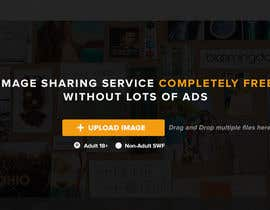 #7 for Webdesign for PIX.SO - image sharing service af xrevolation