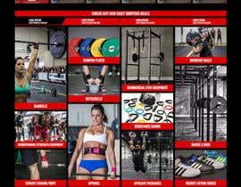 #29 para Web Design for AmericanBarbell.com por janakgfxdesign