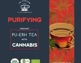 #112 for CANNABIS -TEA BOXES PACKAGING DESIGN by expresooodesigne