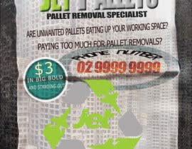 "#34 cho Design a Flyer for ""Jet Pallets"" bởi zizolopez"