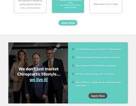 Nro 22 kilpailuun New beautiful home page (modern/clean) for marketing agency käyttäjältä Sherazfreelancer