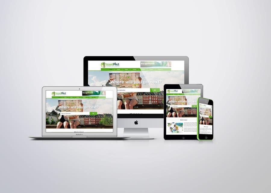Proposition n°3 du concours Design a Website Mockup for TW