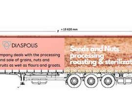 #14 for Projekt reklamy na naczepę Tira / Project of advertising on a truck trailer af adityadarji28