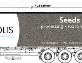 #15 para Projekt reklamy na naczepę Tira / Project of advertising on a truck trailer por StudioLuminar