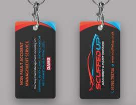 #169 for Design a Keyring Card for an Auto Body Shop af mamun313