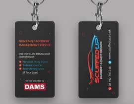 #211 for Design a Keyring Card for an Auto Body Shop af mamun313