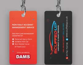 #290 for Design a Keyring Card for an Auto Body Shop af mamun313