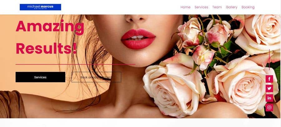 Contest Entry #                                        14                                      for                                         Michael Marcus Cosmetic rebrand and launch via shoppify