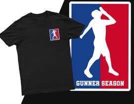 #21 for Gunner season league logo for t shirt af Mist3rHabib