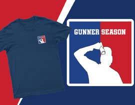 #58 for Gunner season league logo for t shirt af Mist3rHabib