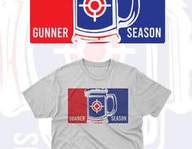 #7 for Gunner season league logo for t shirt af antoniustoni