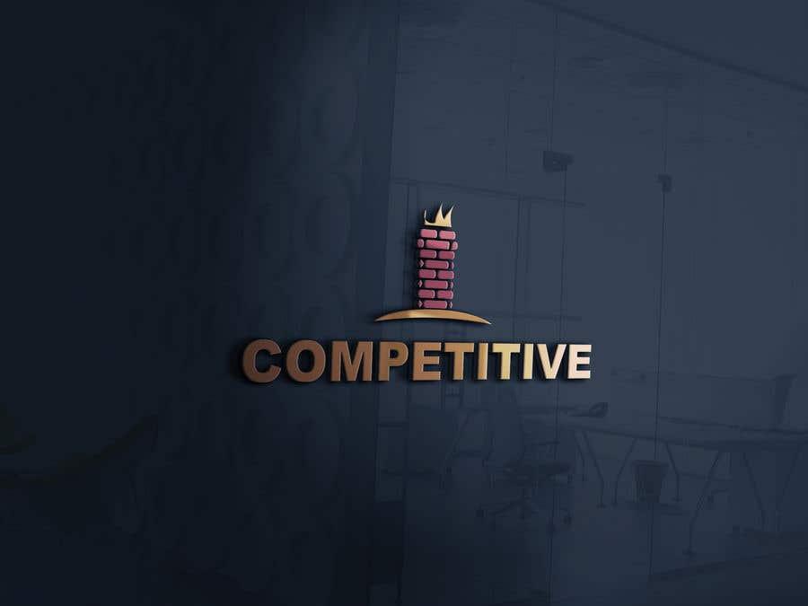 "Intrarea #                                        94                                      pentru concursul ""                                        Logo for tuckpointing & chimney repair company                                     """