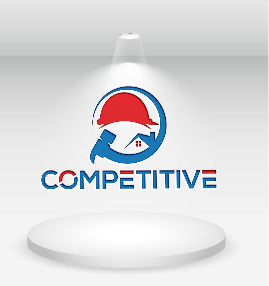 "Intrarea #                                        89                                      pentru concursul ""                                        Logo for tuckpointing & chimney repair company                                     """