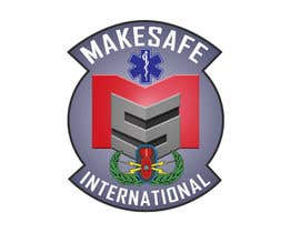 nº 30 pour MakeSafe International Non Profit Casualty Extraction and Explosive Ordnance Disposal service logo contest par fingerburns