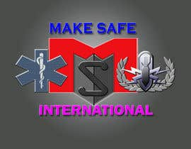 nº 46 pour MakeSafe International Non Profit Casualty Extraction and Explosive Ordnance Disposal service logo contest par nazrulislam277