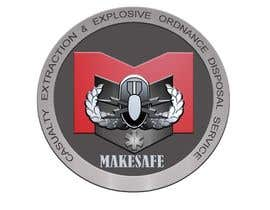 nº 24 pour MakeSafe International Non Profit Casualty Extraction and Explosive Ordnance Disposal service logo contest par Helen2386
