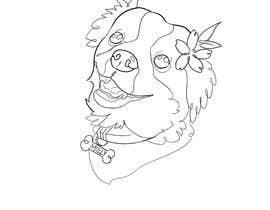 #29 for Draw an outline of my dog af jesusantri