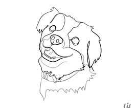 #9 for Draw an outline of my dog af LihCreative