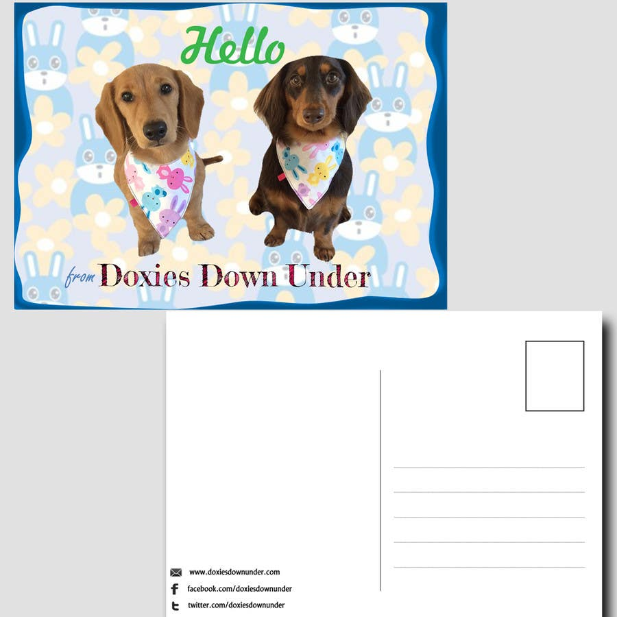 Contest Entry #5 for Design a two-sided postcard