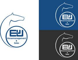 #58 untuk Design eines Logos for a horse selling company -- 2 oleh Alluvion